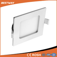 New Arrival latest ultra thin 6w led square downlight