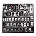 42 PCS/Set Sewing Machine Foot Domestic Sewing Machine Foot Feet Snap On Sewing Tools Accessory For Brother Singer Janom