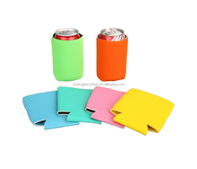 New Design With Bottle Opener Neoprene 330ml Can Cooler Holder Collapsible