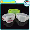 remote controlled RGB colors flashing led light silicon wristband
