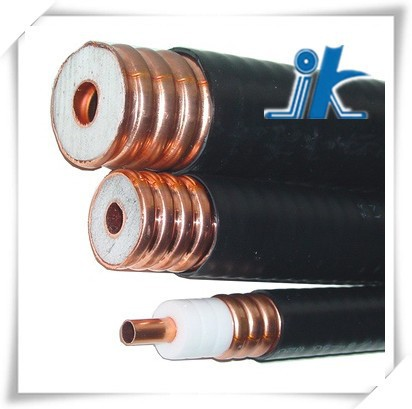 China 50ohm helical corrugated copper tube andrew feeder cable 5/8