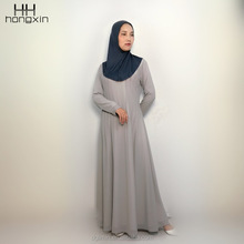2018 newest fashionable abaya collection Islamic abaya for Malaysia