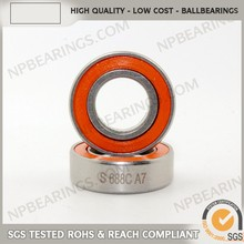 China supplier precision deep groove 16 mm ball bearing stainless
