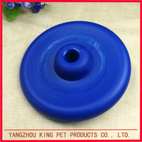 Factory supplies custom printed pet flying disc plastic dog frisbee