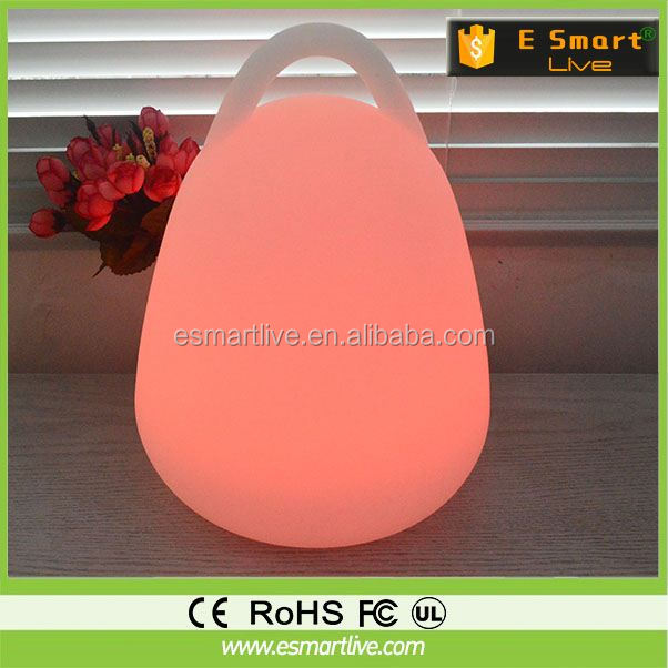 Novelty Magnet Suspending rechargeable led desk lamp, hotel desk lamp