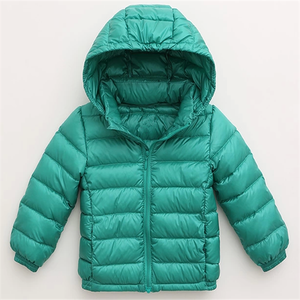 High Quality Ultralight Baby Down Jacket For Winter