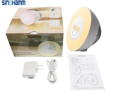SINOHAMM Wake Up Light 2017 Newest Version Wake-Up Light Colored Sunrise Alarm Clock with Smart Snooze Function