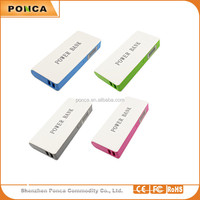 Shenzhen wholesale 18650 battery mobile phone charger portable charger 15000mah power bank