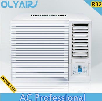 2016 Olyair euro standard New R32 gas 9000/12000btu inverter window air conditioner
