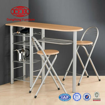 popular metal breakfast table set