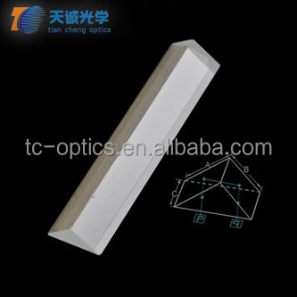 Precision plastic acrylic optical prism,Optical Glass right angle prism,k9 glass,AL coated