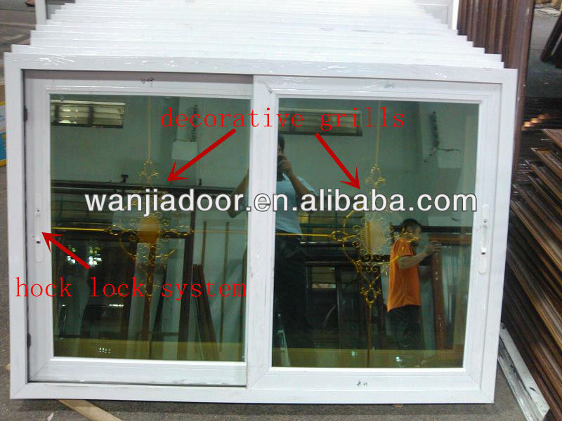 used commercial large sliding glass reception windows