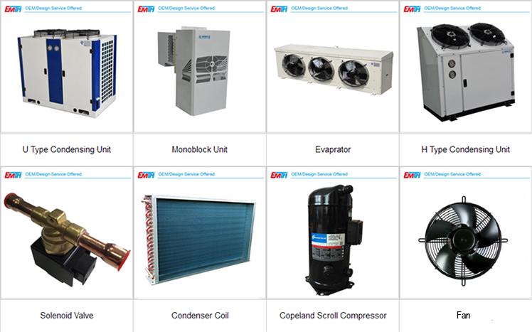 Evaporative Condensing Unit : Evaporative hotsale condensing units for blast freezer