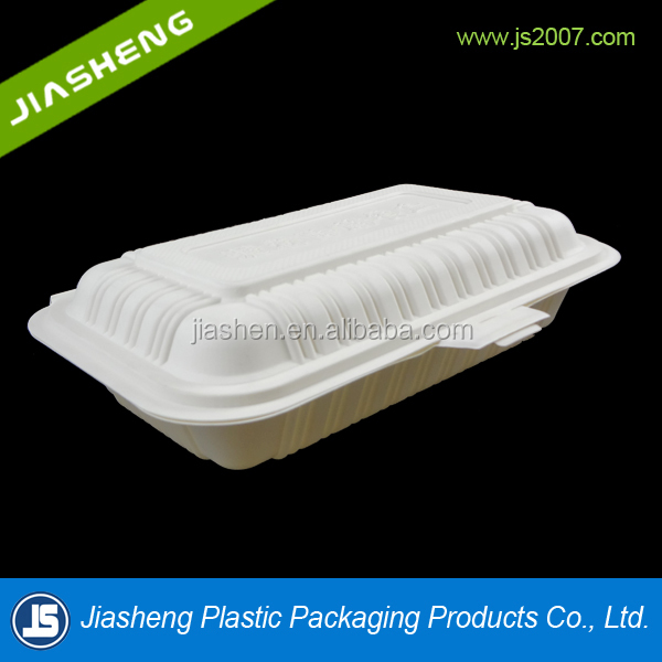 100% Biodegradable Disposable Corn Starch Boxes For Takeaway