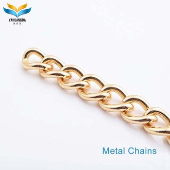 thin bag accessories metal chain for handbag