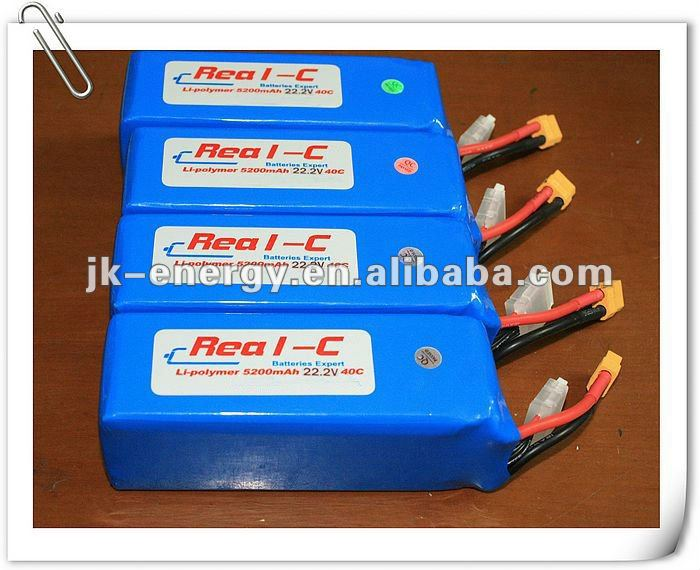 40C li polymer battery pack for rc car