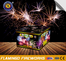 Quality relief 100 shots Fireworks Show display cake fireworks professional 1.3g