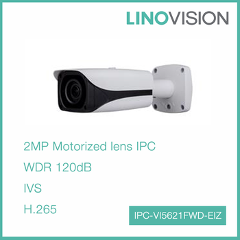 New Released 2MP H.265 Water-proof Bullet IP Network Camera with 50m IR
