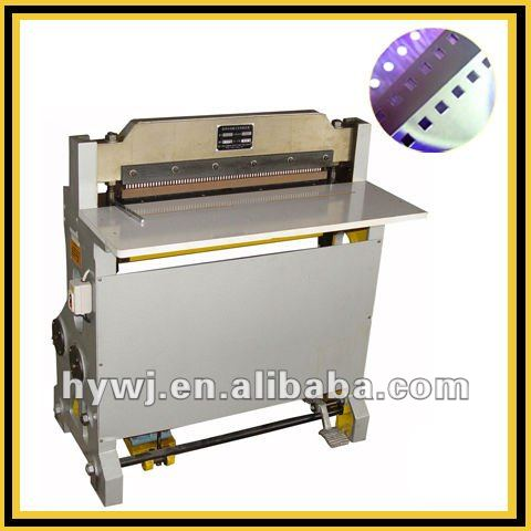Top Quality Semi-Automatic Paper Hole Punch Machine For Book Binding