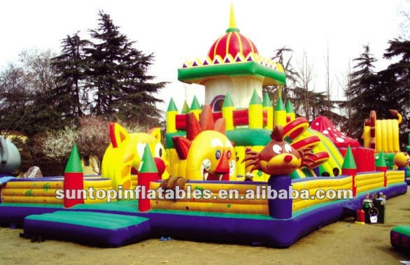 newly designed inflatable playland for children party game