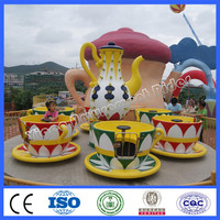 Play park kids outdoor entertainment cup rides for sale