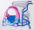 China-made supermarket cart kid trolley with toy car