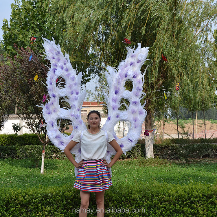 stage decoration large angel fairy wings costume