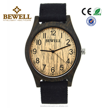 cheap men size black sandalwood case All Natural Wood Watch mens wrist watch