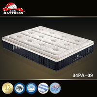 hot sale memory foam mattress rice straw mattress making machine city mattress 34PA-09