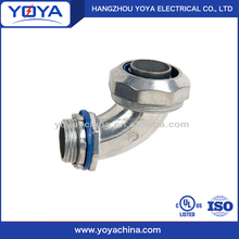 liquid tight electrical angle conduit connector