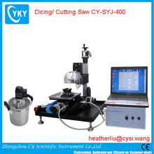 CYKY Precision CNC Dicing/ Cutting Saw with Complete Accessories & Laptop and Software