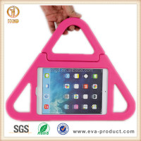 Hottest tablet accessories anti shock eva case for ipad mini with foldable stand