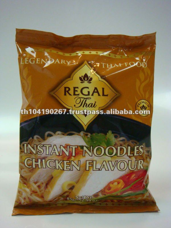 Instant Bag Noodles Chicken Flavour (85 g) from Thailand