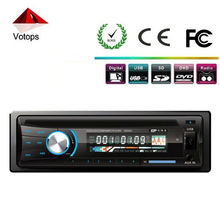 single din car dvd/cd player detachable USB/SD A/V input output