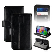 2014 Hot selling New products luxury wallet case for Samsung S5 case with card holder,for Samsung Galaxy S5 case