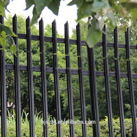 palisade fence d type
