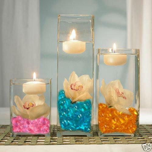 agua cyrstal perlas de gel para la vela flotante arreglos buy product on alibabacom