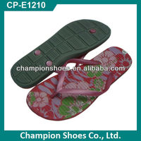 Durable Women Nude Beach Flip Flops