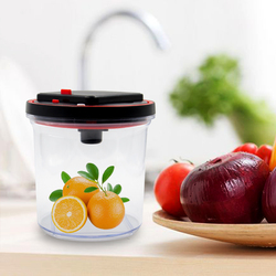 Large Coffee Container, BFA Free Automatic Vacuum Sealed Food Storage