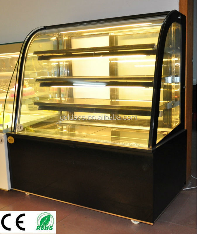 Commercial Bakery Refrigerated Antifogging Cake Display fridge