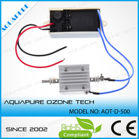 stable performance 12V DC 400mg ozone generator cell parts