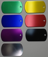 Engravable Blank Dog Tags Mix and Match for Quantity Discounts