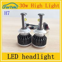 China manufactory H7 car auto led headlight led light bulb