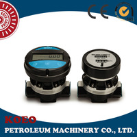 High Precision Manual Oval Gear Flowmeter with Pulser