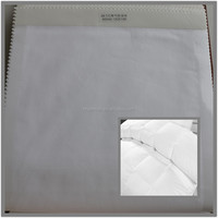100% polyester duvet cover satin fabric down proof
