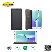 New coming Magnetic leather case wallet cover for Samsung Galaxy s7