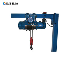 Alibaba 5000kg 3-30m mtrs electric wire rope hoist winch with CE certification