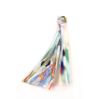 Promotional polyester borong shawl for sale