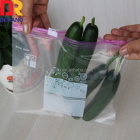 plastic pe slider packaging seal bag
