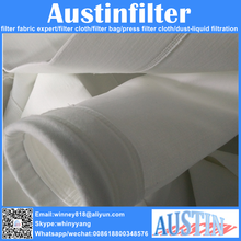Industry polyester nonwoven dust filter bag for factory gas filtration purification